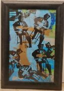 Bo Diddley Art Mixed Media By Bobby Hill African American New York Artist