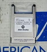 Allen Bradley 2711p-rch Compact Flash Adapter To Pcmcia Adapter New