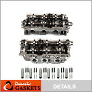 Left And Right Cylinder Head Fit 95-04 Toyota 4runner Tundra T100 Tacoma 3.4 5vzfe