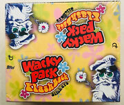 Topps Wacky Packages - Flashback Edition Factory Sealed 240 Stickers 2008
