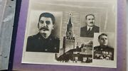 Album Photo Russia Ussr Army Officer General Military University Stalin Orden