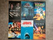 Classic Movie Posters X6 11x17 Back To The Future Jaws Jurassic Park Dune ++