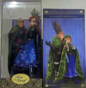 Disney And039frozenand039 Anna And Christoph Doll Set Fairy Tale Designer Collection/case