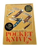 Vtg Book Official Guide To Pocket Knives Parker And Voyles