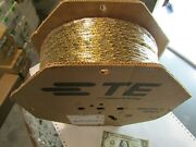 Full Reels Of 10000 Tyco/amp .250 Faston Crimp Terminals 14awg Brass Female