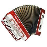 Close To New Russian Bayan, Light Weight Button Accordion For Beginner Kids 1344