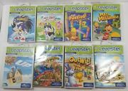 Lot Of 8 Leap Frog Leapster Games - Sonic X, Up, Math Missions, Outwit..complete