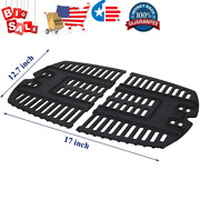 Bbq Grill Cooking Grid Grate Replacement For Weber Q100 Q140 Q1000 Q1200 Q1400