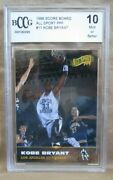 Kobe Bryant Rc 1996-1997 Score Board All Sport Ppf Rookie11 Bccg10lakers G Rc