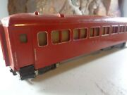 American Flyer Red New Haven No 650 Passenger Car,missing Coupler  5-120-5