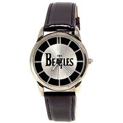 Beatles Collectible Fossil Mans Boxed Watch Numbered X Of 10k Leather Band 149