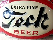 Vintage Nos Rare 1952 Large Tech Beer Sign-pittsburgh Brewing Co.super Nice