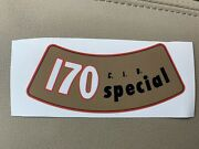 Ford 170 Air Cleaner Decal / Sticker- 6 Cylinder Mustang Falcon Or Comet