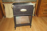 Antique Vintage Sunray 13 Metal Gas Heater With Interior Copper Lining 1329