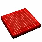 Hqrp 660 Nm 14w 225 Led Pure Red Grow Light Panel For Growing Flowers Orchids...