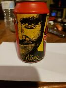 Rare Coca-cola Coke Music Can Germany Phil Collins Empty Never Opened