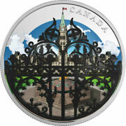 2018 Canada 2 Oz Silver 30 The Queen's Gate Formal Entrance To Parliament Hill