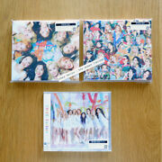 Twice Fanfare 3 Type + Official Tower Records Benefits 1 Random Cards