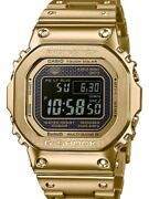 Gmw-b5000gd-9jf G-shock Full Metal Gold Smartphone Link Bluetooth Powered By
