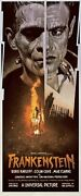 Frankenstein By Drew Struzan And Ken Taylor - Signed - Rare Sold Out Mondo Print