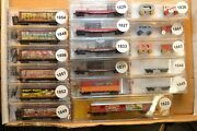 N Scale Micro-trains Ringling Bros And Barnum Bailey Circus Series Sold Individual