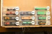 N Scale Cars Sold Individually, Micro-trains Smokey The Bear Series Cars