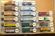N Scale Cars Sold Individually Micro Trains Series Xmas Ice Cream Battle Ships