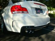 Megan Racing Burnt Rolled Quad Tips Supremo Exhaust Kit For Bmw 1m E82 2011
