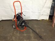 General Wire Mini-rooter Xp 1/2 X 50and039 Cable Sewer Line Cleaning Drain