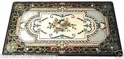 4and039x2and039 Marble Table Top Mosaic Inlay Gems Marquetry Home Decor Granite Table Arts