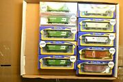 N Scale Cars Sold Individually, Exact Rail Covered Hoppers Bn Lv Wc Up Burlingto