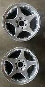 1995-97 Dodge Viper 17 Polish Factory Oem Front Wheels 2 Rims Sold As A Pair