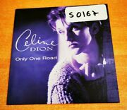 Celine Dion Only One Road Ultra Rare Spanish Austria Cd Single Card Sleeve 1995