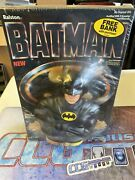 Batman Cereal With Free Bank 1989 Keaton Sealed Ccghouse