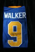 Anthony Michael Hall Autographed Johnny Walker Custom Jersey Beckett Certified