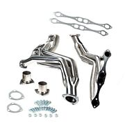 For Chevy Small Block V8 35-48 Exhaust/manifold Stainless Fat Fender Well Header