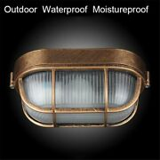 Wall Ceiling Light Lamp Waterproof Vintage Porch Alluminum Alloy Glass Lightings