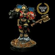 ⭐️wh40k Space Marine Blood Angels Painted Lemartes Guardian Of The Lost Hero Hq