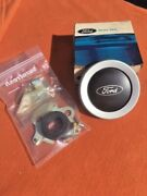71-72 Ford Pickup Truck Nos Steering Wheel Center Horn Button Cap Contact Plate