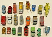 23 Antique Metal Matchbox Cars Trucks And Other Makes