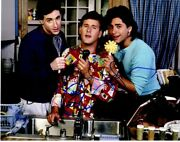 Bob Saget, Dave Coulier, And John Stamos Signed Full House 11x14 Inch Photo