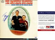 The Smothers Brothers Signed Lp Record Autographed Album Cover - Psa/dna Coa
