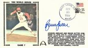 Bruce Sutter Signed St. Louis Cardinals 1982 World Series Game 7 Cachet Fdc