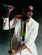 Kanye West Signed - Autographed Rare Yeezus Concert 11x14 Inch Photo With Coa