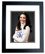Emmy Rossum Signed Autographed Sexy Shameless Actress 8x10 Inch Photo - Framed