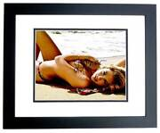 Kate Upton Signed Si Sports Illustrated Swimsuit Model 11x14 Inch Photo - Framed