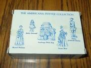 5 The Americana Collection Liberty Falls Pewter Packs 72 71 109 110 1994