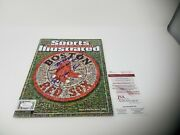 Terry Francona Signed Autographed Sports Illustrated Boston Red Sox 2x Inscribed