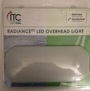 Itc 69252-30-3k-d Radiance Led Overhead Rv Light Approx 3 1/2andrdquo X 8 1/4andrdquo-ship24h