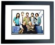 Dads Autographed Photo Signed Seth Green, Giovanni Ribisi, Martin Mull + Framed